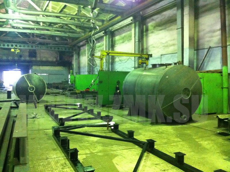 Фотографии Двустенные нержавеющие резервуары (силосы) для хранилищ - ргс 25, 50, 75, 10, 100