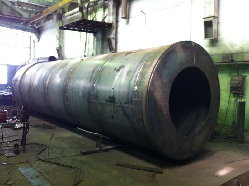 силос для цемента на производство